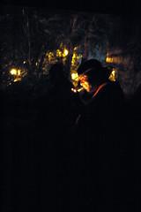 hobos smoking under a bridge at night (tintyper) Tags: night america train smoking hobo freight riders ftra