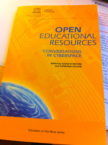 Open Educational Resources book via UNESCO - Conversations in Cyberspace
