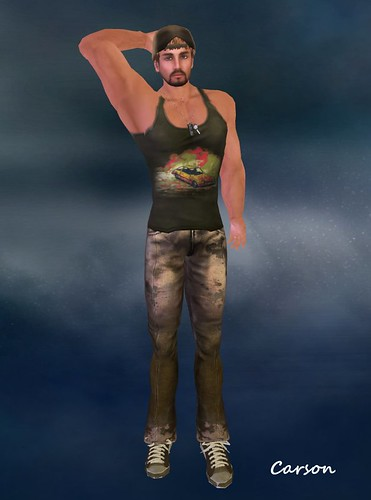 . WoE . Vega Wife Beater (Dirt) ~GW~ Special Edition Grunge Jeans (GIFT) INk'd Hunt