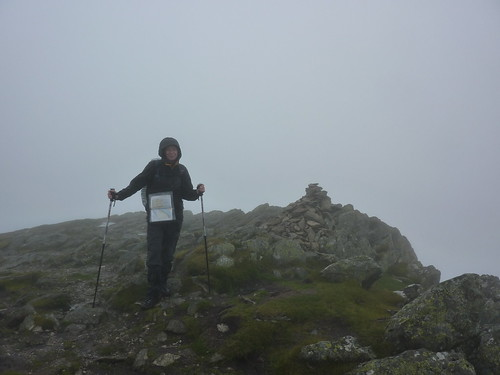 At the summit of Kidsty Pike