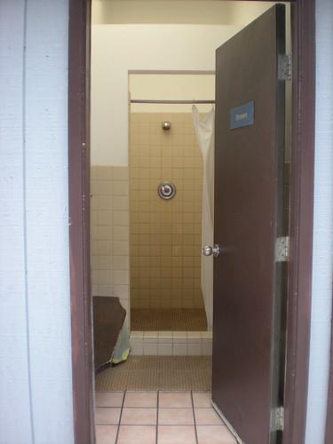 Shower at Skagway Marina