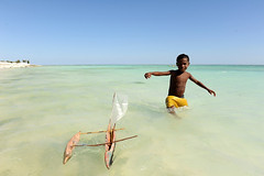 Vezo child:playing and already learning (explore) (luca.gargano) Tags: voyage africa sea boat sailing child madagascar pirogue vezo sailingboat gargano lucagargano lpboats
