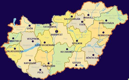 magyarország megyeszékhelyei térkép Melyik Sziget színpad melyik megyeszékhelynek felel meg?   Urbanista magyarország megyeszékhelyei térkép