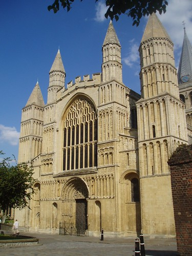 West Facade, Rochester Cathedral