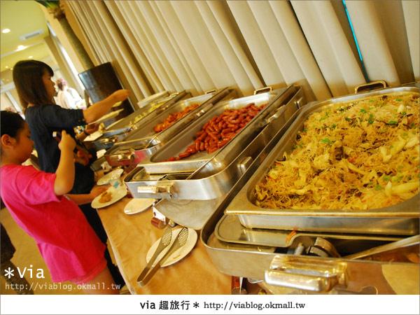 【新竹旅館】關西六福莊生態渡假旅館~餐食篇5