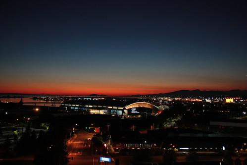 Sunset, 11 August 2010