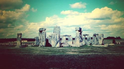フリー写真素材, 建築・建造物, 遺跡, ストーンヘンジ, 世界遺産, イギリス,