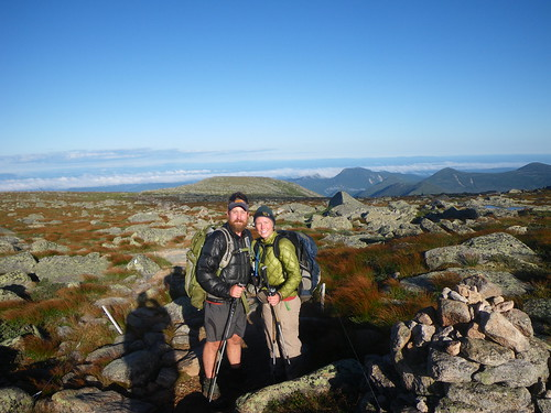 Chris & Misti on Katahdin