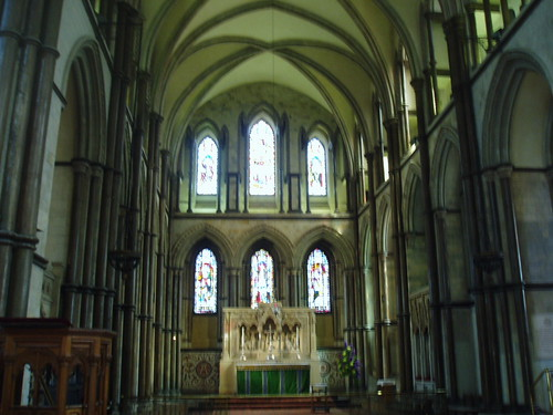 Presbytery looking East, Rochester Cathedral