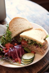 Muddy Waters - tuna salad sandwich