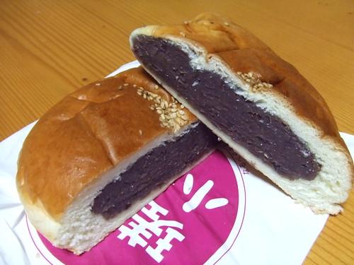 呉 メロンパン 小倉餡2