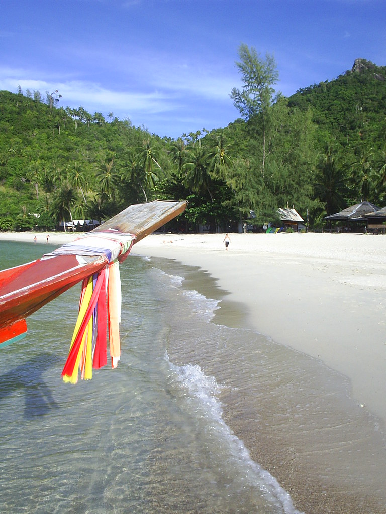 Longtail on Bottle Beach, Ko Pha Ngan