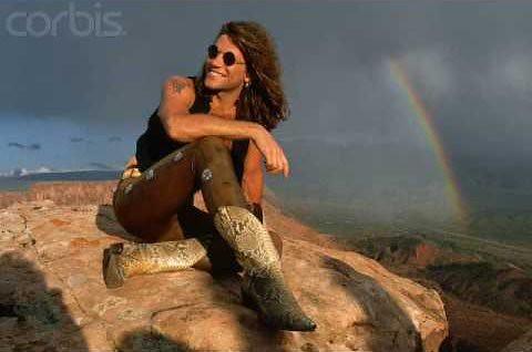 jon bon jovi rainbow