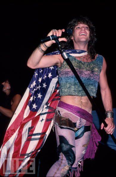 jon bon jovi us flag and really bad clothes