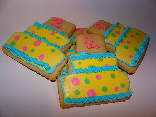 Jeremy's Birthday Cookies