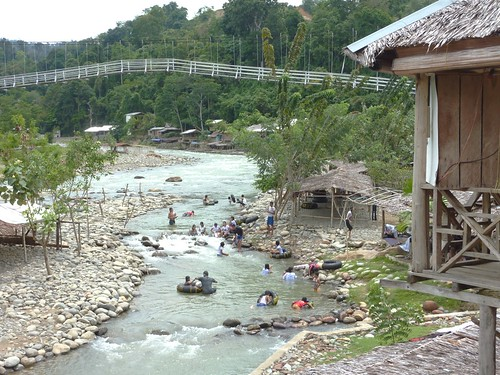 Bukit Lawang - Rivière (6)