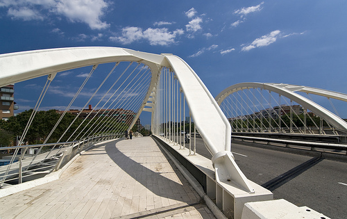 Bach of Roda Bridge, Barcelona, Spain