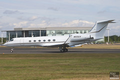 N55GV GULFSTREAM G5 515 CORPORATE  - 100724 - Farnborough - Alan Gray - IMG_9079