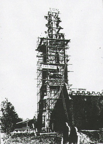 Stone Church Tower 1925