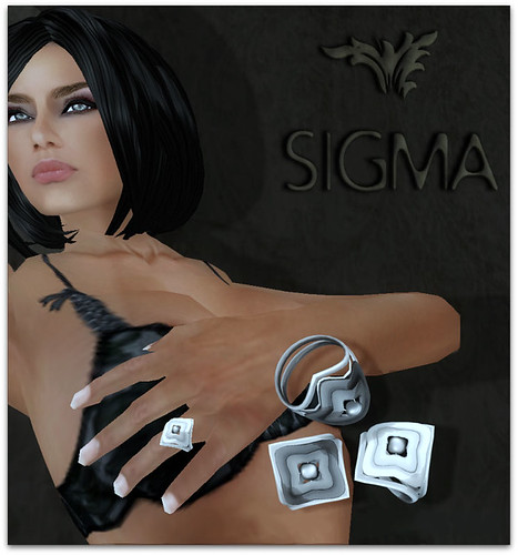 SIGMA Jewels/ Metal blossom rings