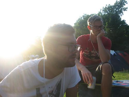 @brissmyr och @jimtegel
