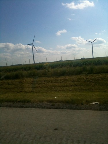 Wind turbines in Indiana