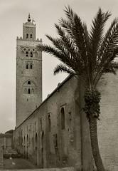 Marrakech minaret (R. O. Flinn) Tags: architecture minaret mosque morocco marrakech islamic