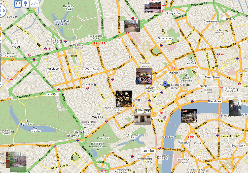 London's Top 10 Wi-Fi hotspots