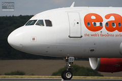 G-EZEU - 2283 - Easyjet - Airbus A319-111 - Luton - 100811 - Steven Gray - IMG_1361