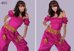 Design's by Fatimah Al-moushegah (Simplyasir) Tags: pink house laura beauty studio design bahrain model dress purple collection trend bale fatimah manama
