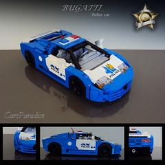 Bugatti EB110 SS police car