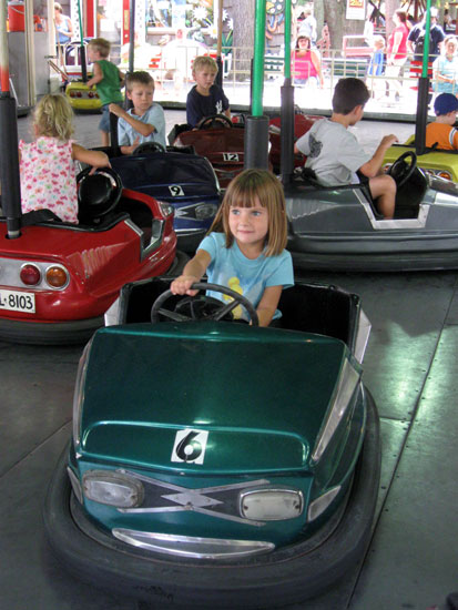 Nice on the Bumper Cars