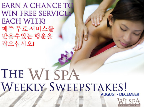 Wi Spa Weekly Sweepstakes