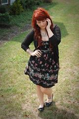 Kaelah Outfit 8.17.10 (missbeauregarde) Tags: fashion tattoo wardroberemix blog outfit dress style blogger tattoos redhead tattooedgirl whatiwore kaelah wiwt fashionblogger kaelahbee