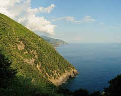 The Coast as Seen from Monterosso (shirley319) Tags: travel italy july hike cinqueterre vernazza monterosso 2010 d300