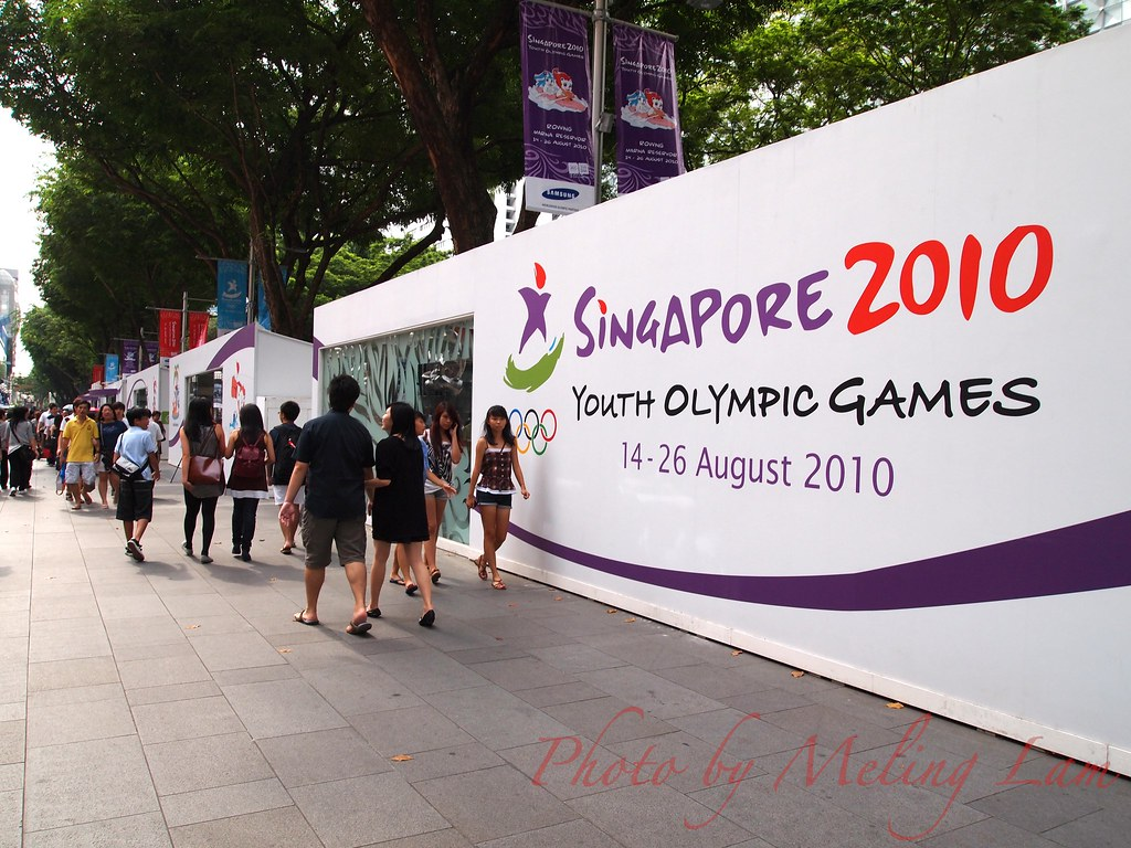 Singapore 2010 Youth Olympic Games opening