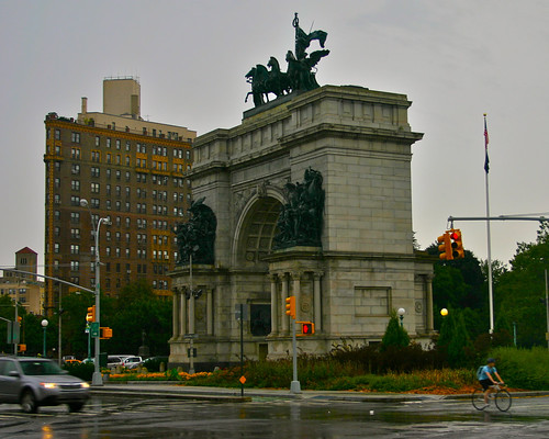 Soldiers' and Sailors' Arch @ Grand Army Plaza in Brooklyn