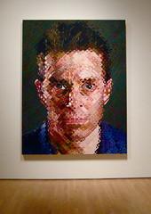 James by Chuck Close (a.s.loro) Tags: sanfrancisco portraits sfmoma chuckclose sanfranciscomuseumofmodernart