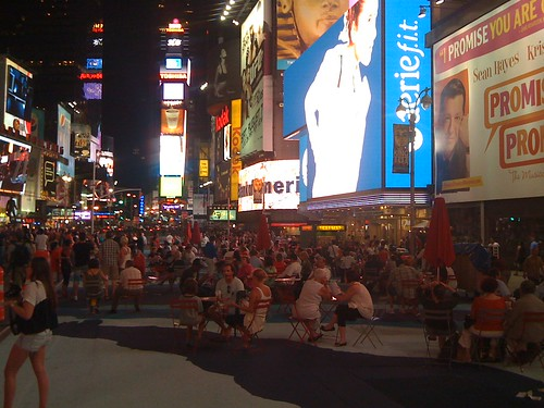Times Square Street Park 11:30pm
