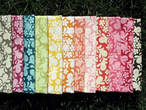 Henna Garden Fabric Row