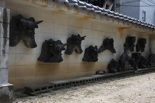 鬼瓦 梅林寺,Bairinji Temple