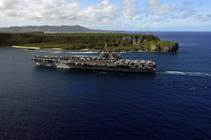 USS Kitty Hawk in Western Pacific (US Navy) Tags: ocean ship pacific military militar aircraftcarrier usnavy buque ocano unitedstatesnavy usskittyhawk