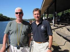 Coach Joe Quaid, Club President Ray Del Bianco
