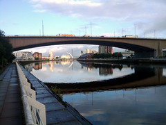 The Clyde is calm (martinjyoung) Tags: riverclyde glasgow alea kingstonbridge lancefieldquay bbcscotland anderstonquay generalterminusquay