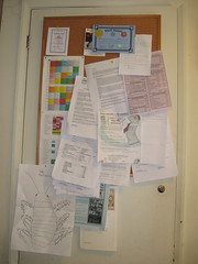 The notice board