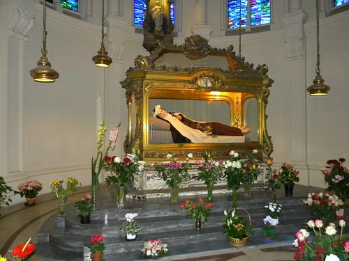 Theresia van Lisieux zoals ze op haar sterfbed lag