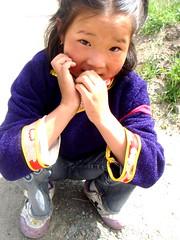 (.kmo.) Tags: china portrait girl kid child shy tibet qinghai xining
