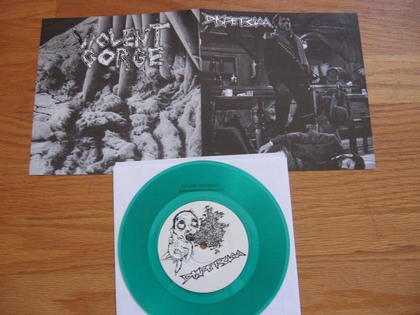 Split release Dispesiaa + Violent Gorge...
