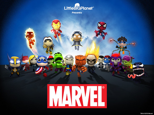 LittleBigPlanet 2: Marvel costume pack