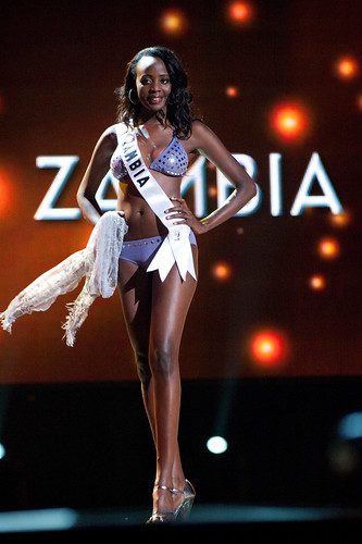 Flickr Photo of Miss Zambia 2010 Alice Musukwa in swimsuit